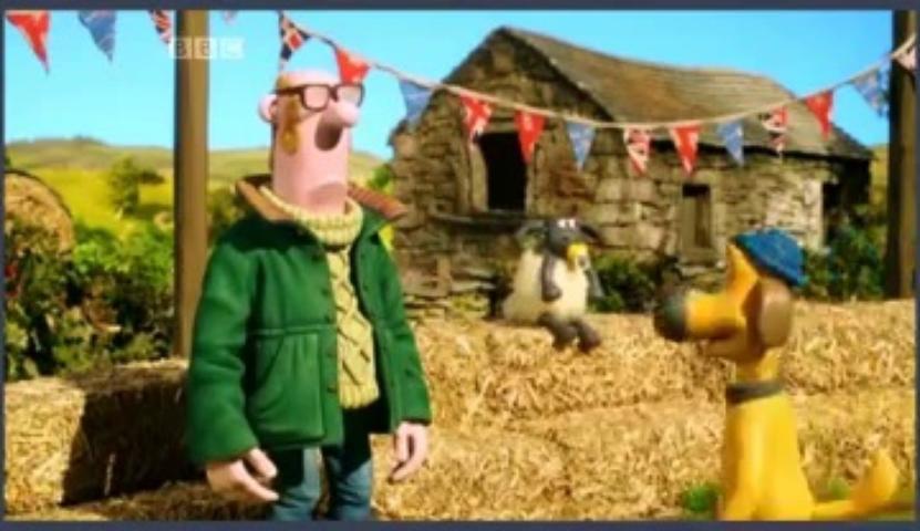 Veselá farma - Ovečka Shaun 3x03 - Pastier