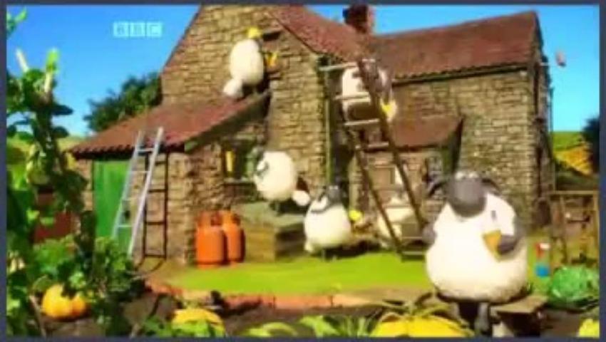 Veselá farma - Ovečka Shaund 3x04 - Kúsok si vynechal.