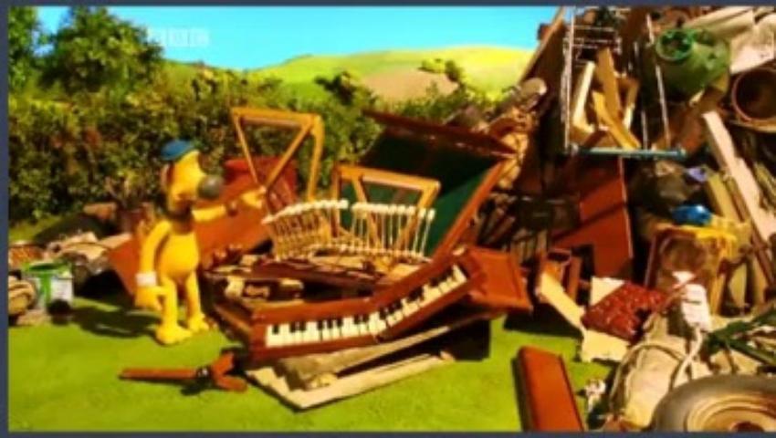 Veselá farma 3x15 - Piáno