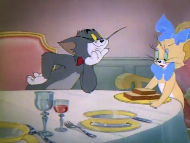 Tom a Jerry #18 - Myš pozvaná na večeru