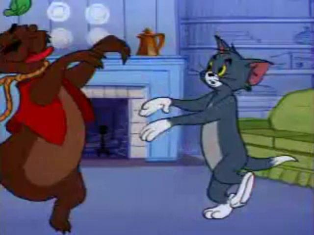 Tom a Jerry #101 - Medveď