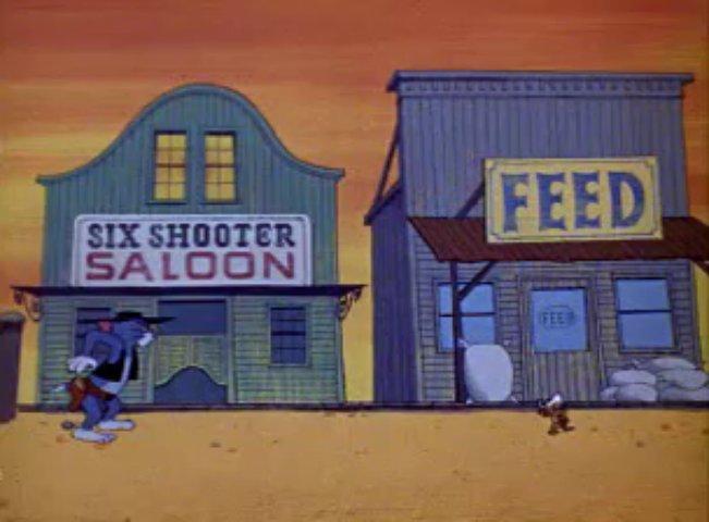Tom a Jerry #123 - Šerif