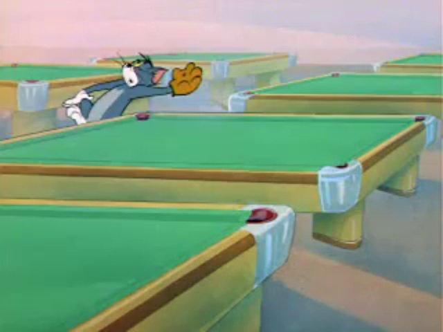 Tom a Jerry #54 - Biliard