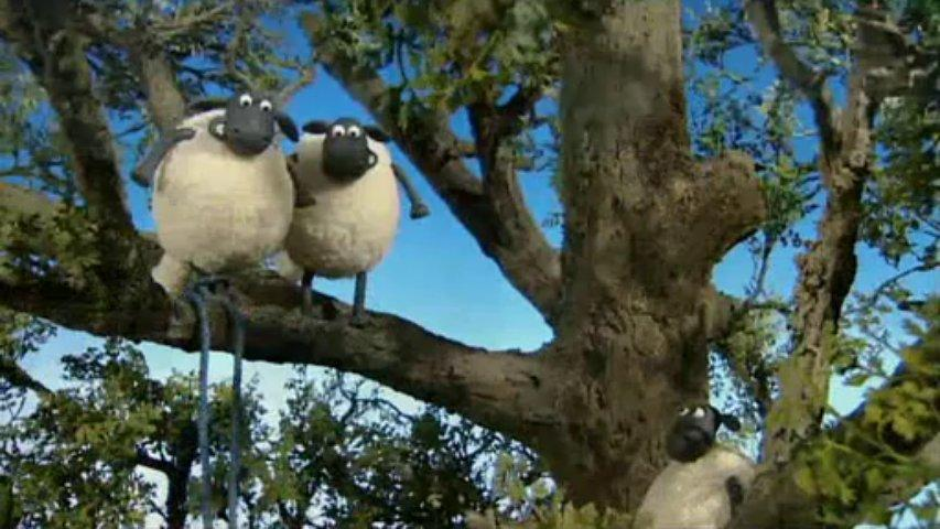 Ovečka Shaun - Zachráň strom