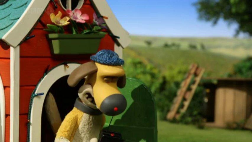 Ovečka Shaun  - Psia búda