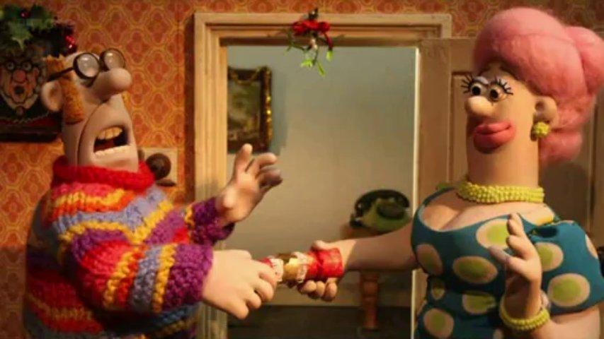 Ovečka Shaun  - Vianoce
