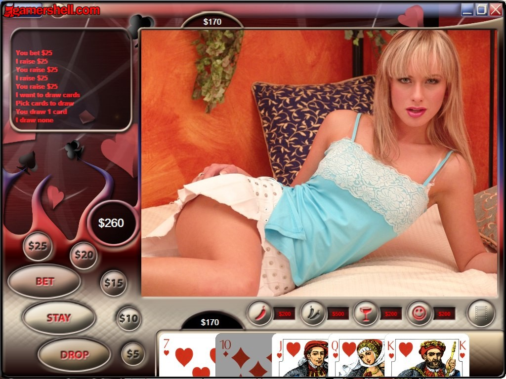 Strip poker full video