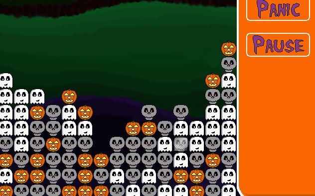 Spooky Block Breaker