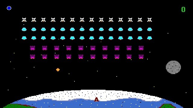 space invaders online full screen
