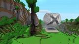 Посмотреть ролик - Прикольные постройки в Minecraft.