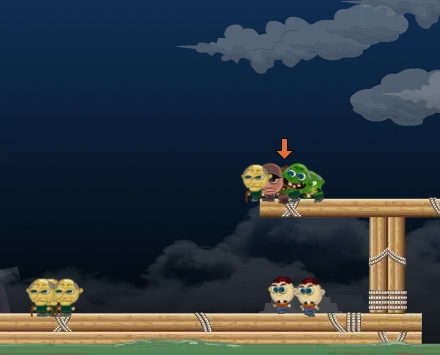 teelombies infection action flash game
