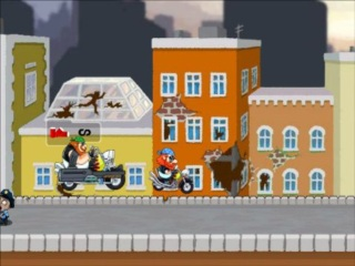 zombies want my bike action flash game