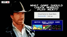 Chuck Norris vs Super Mario Bros