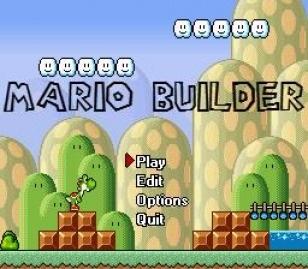 Mario Builder v11 - free game | fullgames sk