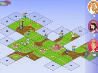 carcassonne strategy flash game. Black Bedroom Furniture Sets. Home Design Ideas