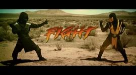 Mortal Kombat - Scorpion VS Noob Saibot