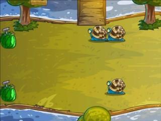 fruit defense action flash game onlinegamesectorcom