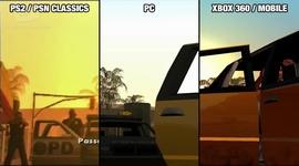 GTA San Andreas - porovnanie