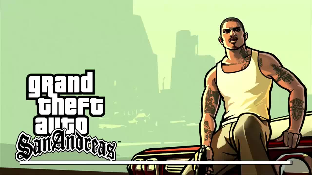 GTA San Andreas - Xbox360 gameplay