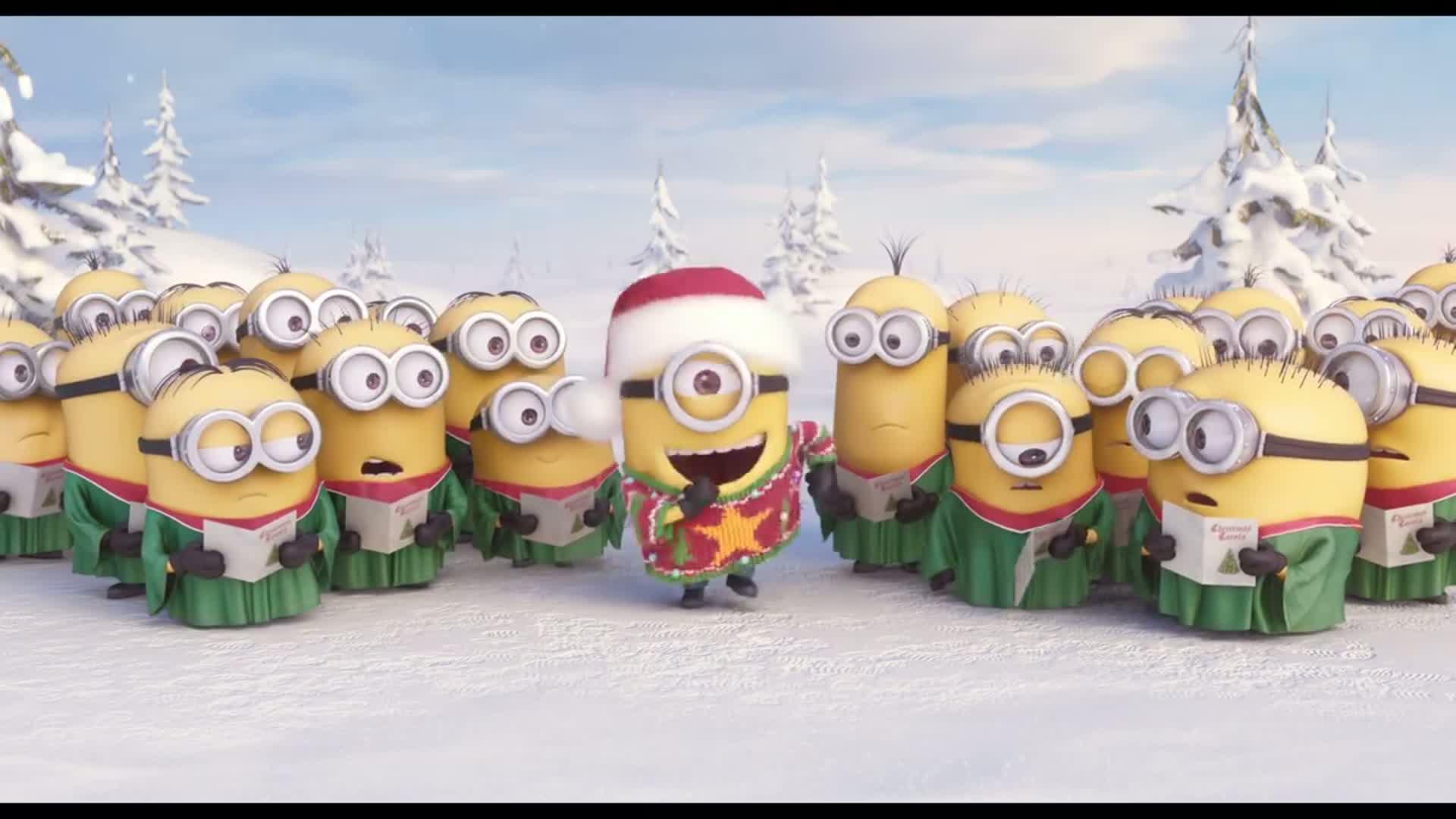 Minions - Vianočná koleda