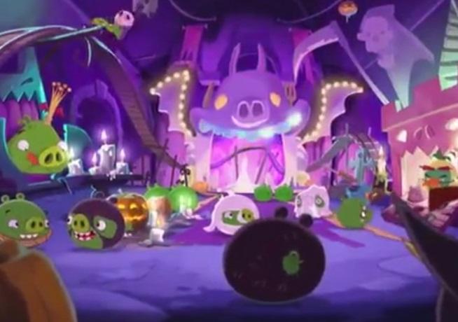 Angry Birds Toons II. #2 - Halloween