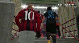 Pro Evolution Soccer 2015 - Inter vs. A.C. Milan