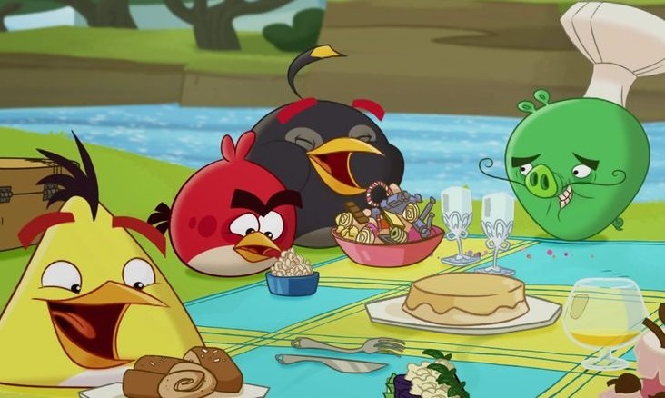 Angry Birds Toons #49 - Piknik