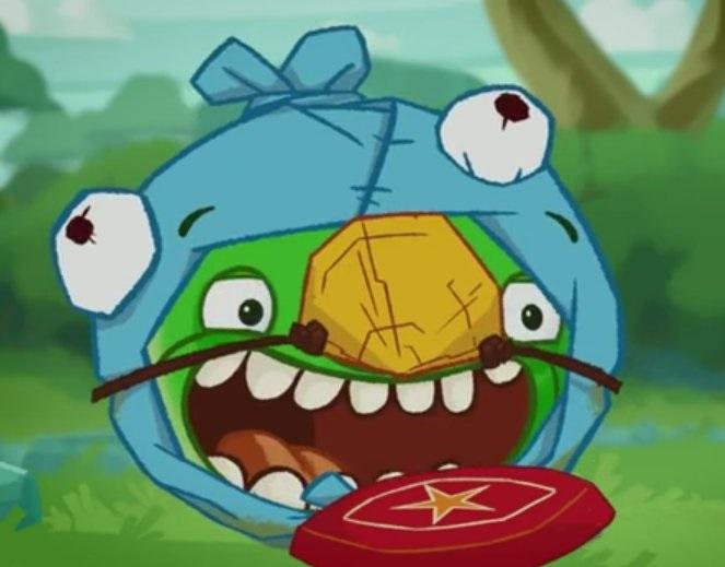 Angry Birds #8 - Prav� modr�