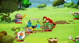 Angry Birds Epic - gameplay