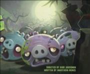 Angry Birds Toons #33 - Noc zombie prasiat