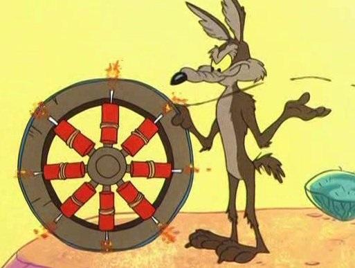 Kojot a Road Runner #9 - Tam beží