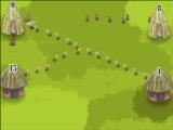 flash hra Hut War Strategy