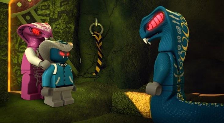 Lego Ninja Go: Rebooted - 30 - Kliadba zlatého majstra