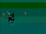 The Centaur and His Powerful sword