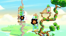Angry Birds Stella - gameplay