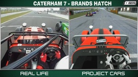 Project Cars vs Real life - Caterham 7