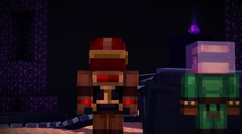 Minecraft: Story Mode - EP1 - Order of the Stone trailer