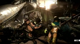 Mortal Kombat X - Kitana Gameplay Trailer