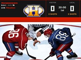 Virtuálna hokejová liga