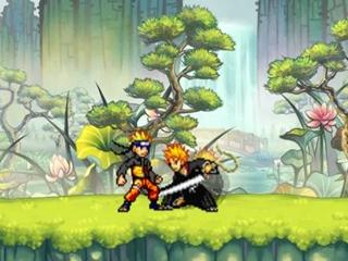 Fighting Luffy Vs Naruto