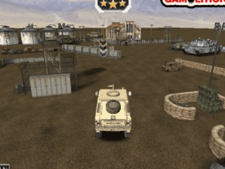 Offroad Army Car Parking