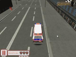 Emergency van 3D parking