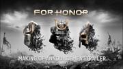 For Honor - Making of E3 trailer