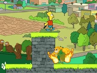 Bart in Zombieland