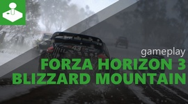 Forza Horizon 3 Blizzard Mountain - gameplay
