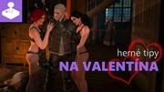 Hern� tipy na Valent�na