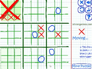 Strategic Tic Tac Toe