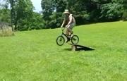 Pády na bicykloch