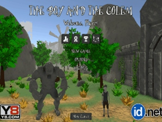 Boy and the Golem