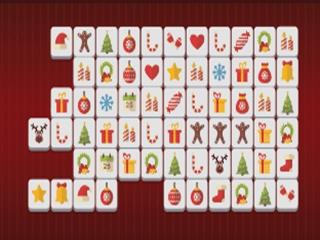 Vianočný Mahjong